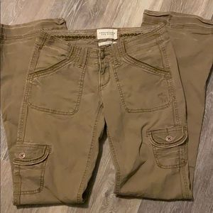 Abercrombie and Fitch pants juniors size 00 .
